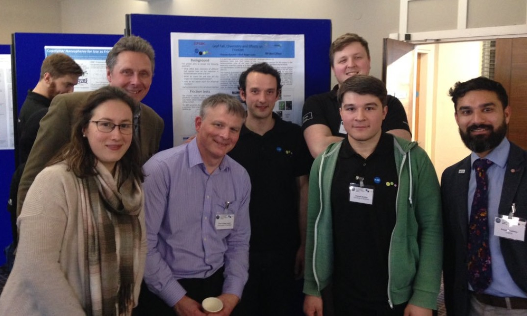 Professor Roger Lewis and his PhD students image